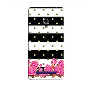 Cover it up Spotted Flower Stipes Hard Case for Asus Zenfone 6 - Multi Color