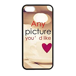Personalized Phone Case,Custom Any Picture You'd Like Print TPU Cover Case,Starbucks Coffee Cover Case for iPhone 6 plus 5.5 (Laser Technology)