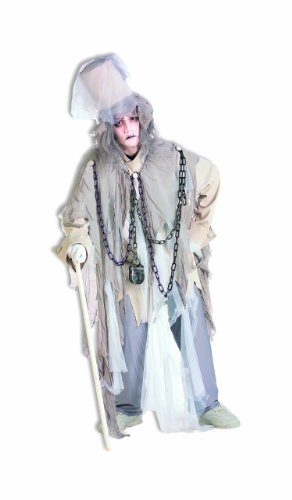 Forum Novelties Men's Jacob Marley The Original Christmas Spirit Costume, Multi, Standard (Original Couple Halloween Costumes)