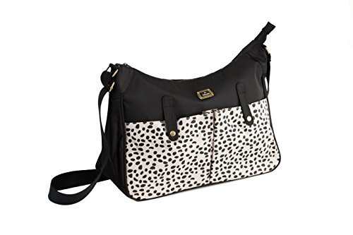 Caboodle Black/Spot Pockets Everyday Baby Changing Bag by Caboodle