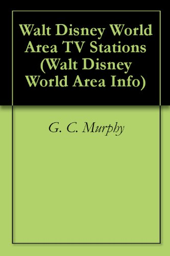 Walt Disney World Area TV Stations (Walt Disney World Area Info Book - Florida Lake Vista Buena Disney World