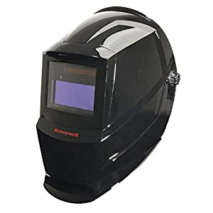 Honeywell HW100 complete Welding Helmet with Shade 10 Auto Darkening Filter (ADF), Black - HW100