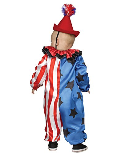 Clown Costumes For Toddler Girl (Happy Clown Toddler Costume - Toddler Small)