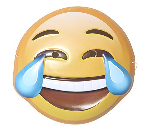 Rolling Festive Emoji Mask (Laughing to Tears) ()