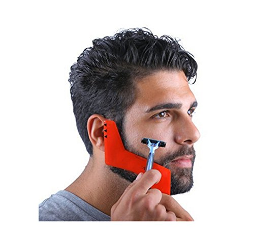 Price comparison product image Alaska2You Beard Trimmer Red