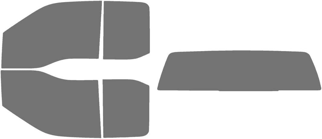 Full Truck with 3 Piece Slider Rear: 5/% Precut Window Tint Kit Fits: 2015-2020 Ford F-150 SuperCab Truck Automotive Window Film