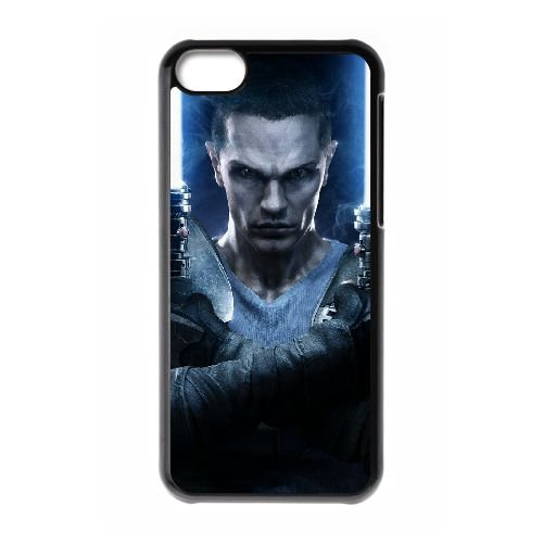 Star Wars The Force Unleashed 2 10 coque iPhone 5c cellulaire cas coque de téléphone cas téléphone cellulaire noir couvercle EEECBCAAN00056