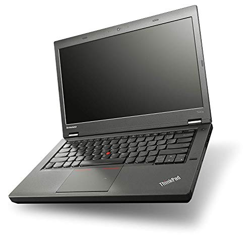 (Renewed) Lenovo T440p Thinkpad 14 Inch Screen Laptop (4th Gen Intel Core i5 – 4300m /8 GB/500 GB HDD/Windows 10 Pro), Black