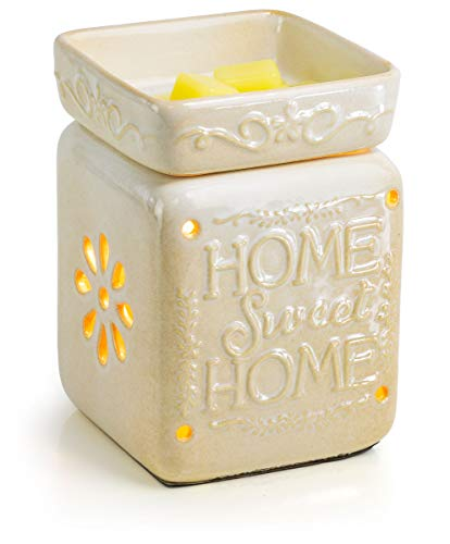 Ceramic Fragrance Warmer (Home Sweet Home) (Sunflower Warmer Candle)