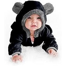 Funzies Fleece Baby Bear Bunting Jacket - Infant Pajamas Winter Outerwear Coat