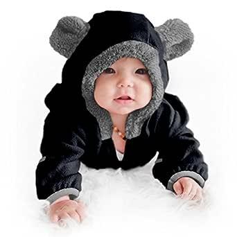 Cuddle Club Mono Polar Bebé para Recién Nacidos a Niños 4 Años ...
