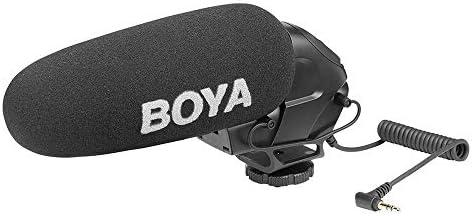 Boya - Micrófono Cañón Para Cámara Reflex: Amazon.es: Electrónica