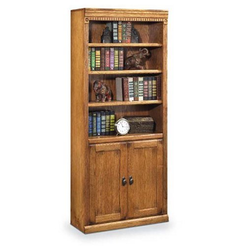 Huntington Oxford Oak Bookcase - 3