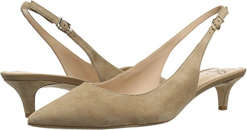 buy cheap affordable pictures Sam Edelman Women's Ludlow Pump Oatmeal Kid Suede Leather Qfzxn9nz