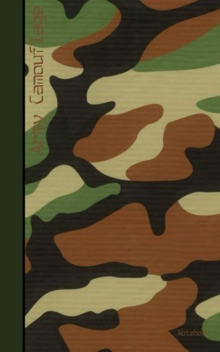 Army Camouflage Notebook: Army Notebook / Journal / Jotter (Contemporary Design)