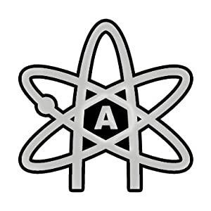 Chrome Atheist Atom Auto Emblem Automotive