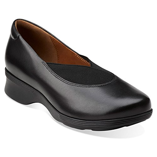 Clarks Fay Aubria Black Shoes On Slip Women's gqr70g
