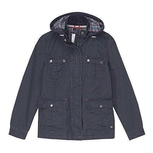 Pkt Womens Stuff UK10 AW17 Jacket EU38 Navy 4 Wax White US6 d4Itww