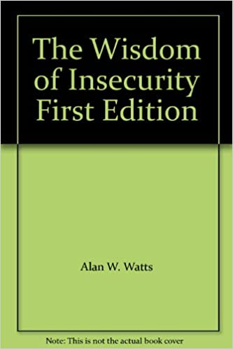 The wisdom of insecurity first edition alan w watts amazon books fandeluxe Images
