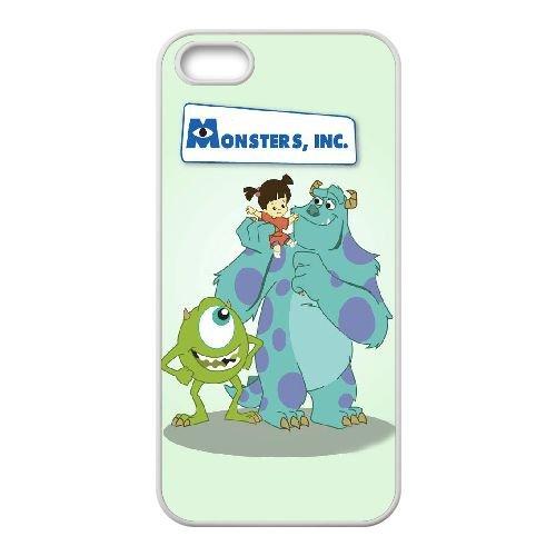 C7L95 Monsters University U5Q1ZR coque iPhone 4 4s cellule de cas de téléphone couvercle coque blanche RY5PUL0JQ