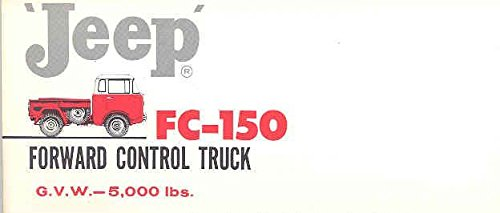 1960 Jeep FC150 Forward Control Truck Mailer Brochure