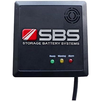 Sistema de almacenamiento recargable sbs-h2 detector de hidrógeno, Visual y alarmas audibles: Amazon.es: Amazon.es