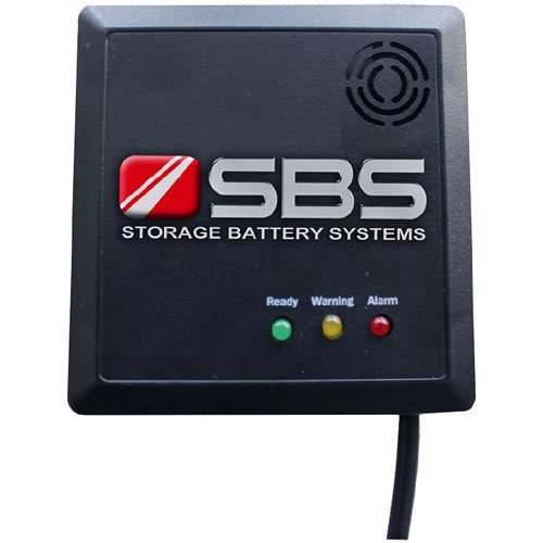 (Storage Battery System SBS-H2 Hydrogen Detector, Visual and Audible Alarms)