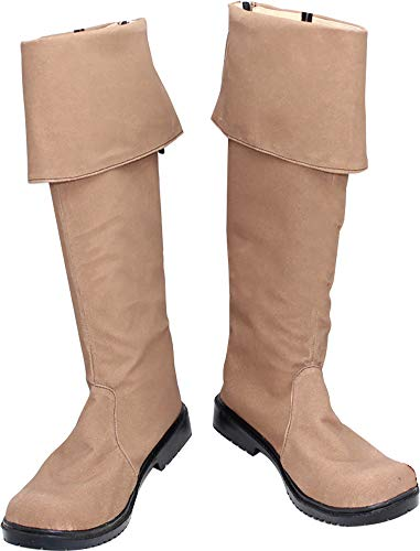 Whirl Cosplay Boots Shoes for Pirates of The Caribbean Jack Sparrow