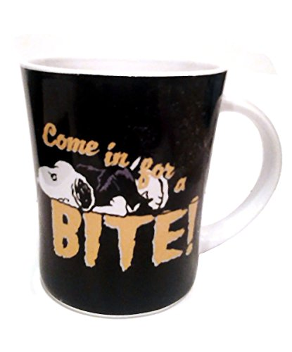 Snoopy's Collectible Come in for a BITE! Halloween Novelty Coffee -