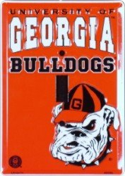 UGA Georgia Bulldogs Metal Light Switch Plate ()