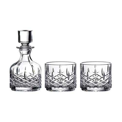 (Waterford Marquis Markham Stacking Decanter & Tumbler Set of 2)