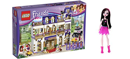 [LEGO Friends Heartlake Grand Hotel 1552 Pcs & free Gifts Ghoul Spirit Draculaura Doll (Colors may vary)] (Bellboy Costumes)