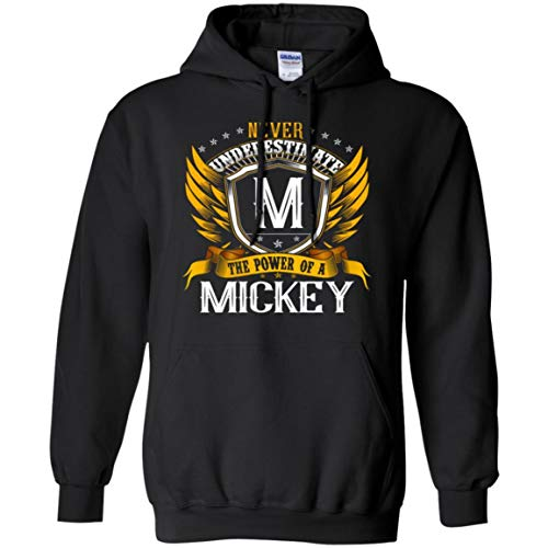 Custom Name Tees store Men's Never Underestimate The Power of A Mickey Shirt - Hoodie