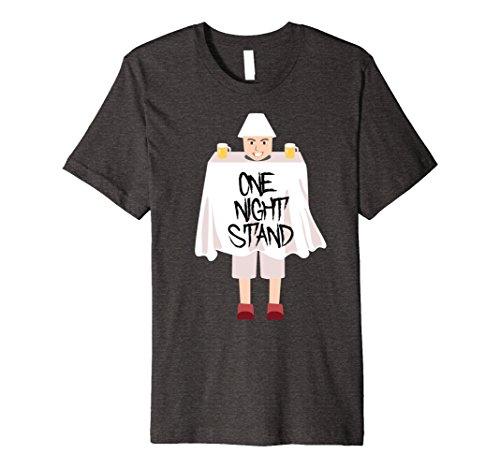 One Night Stand Halloween Costume Amazon (Mens One Night Stand Hilarious Weird Halloween Costume T-Shirt Large Dark Heather)