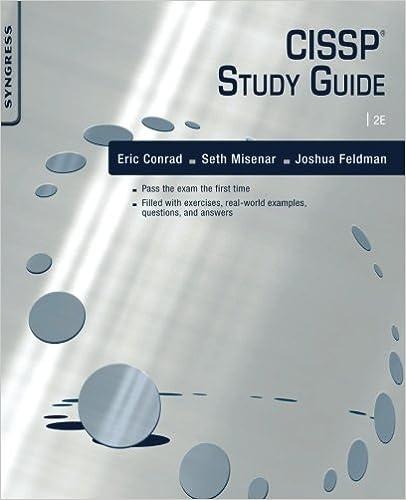 Amazon.com: CISSP Study Guide, Second Edition (9781597499613 ...