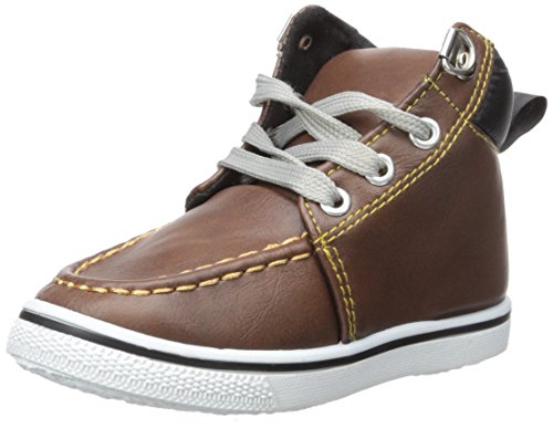 Chillipop Shoes Boys High Top Sneakers: Workboot Style Toddlers/Little Kids