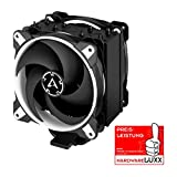 ARCTIC Freezer 34 eSports DUO - Tower CPU Cooler with Push-Pull Configuration, Wide Range of Regulation 200 to 2100 RPM, Includes 2 Low Noise PWM 120 mm Fans - White