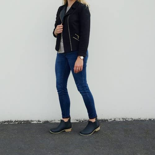Chooka Womens Bainbridge Fleece Lined Chelsea Bootie Boot