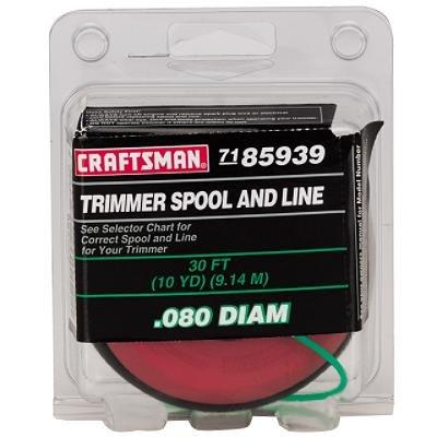 Craftsman Spool - Craftsman Smart Advance Replacement Spool .080 Diameter, 71-85939