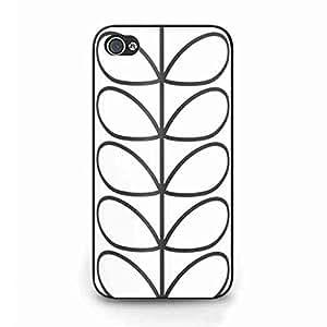 Unique Orla Kiely iPhone 4 Slim Phone Cover,Orla Kiely Elegant Style Funda iPhone 4 Back Funda