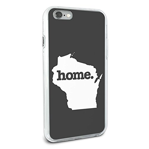 wisconsin-wi-home-state-hybrid-case-for-apple-iphone-6-6s-solid-dark-grey-gray
