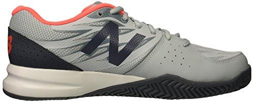 10 Women's Us Tennis Balance New Grey Court 5 786v2 Shoe Hard 2e 58nqPw
