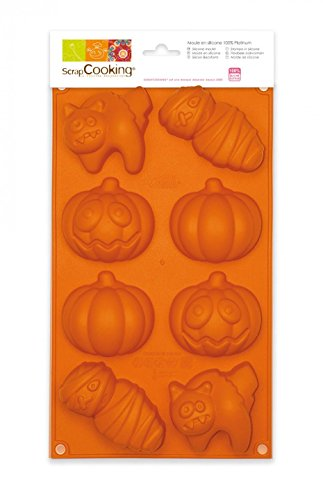 ScrapCooking Silicone Halloween Mold -