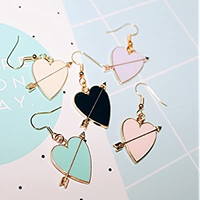 high-quality Custom () hand-made original cute girls love archery two pairs of earrings