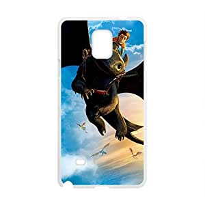 Monster bat and man Cell Phone Case for Samsung Galaxy Note4