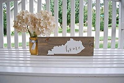 rfy9u7 Home Sweet Home Wood Sign I Kentucky Sign I Kentucky I Kentucky Home I Kentucky Decor I Home Sign I Home Decor I Wood Signs