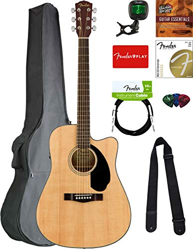 Fender CD-60SCE Dreadnought Acoustic-Electric