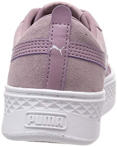 Scarpe puma Puma Ginnastica elderberry White Sd Donna Da Platform Smash Viola Basse qx77tXvw
