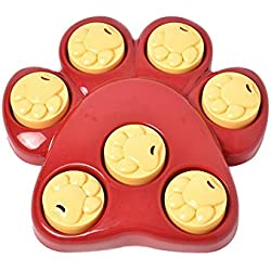 LSX Dog Interactive Game Educational Toy Puppy Fun Iq Education Snack Box Slow Food Bowl Non-Toxic Food Dispensing Plate Educational Toys