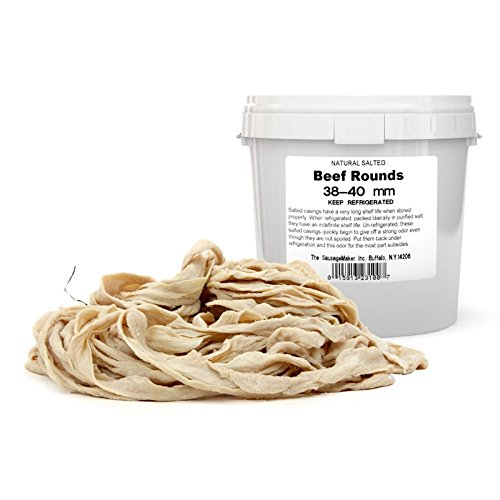 TSM Natural Beef Rounds, 38-40mm by The Sausage Maker
